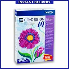 Brother PE Design 10 Embroidery Lifetime Activation 100% Genuine Software 2020
