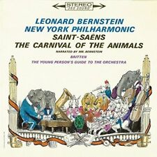 LEONARD BERNSTEIN-PETER AND THE WOLF. THE CARNIVAL OF THE ANIMALS-JAPAN CD B63