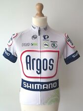 PEARL IZUMI Men's Shimano Argos Felt Team Cycling Full Zip Jersey Size S Great