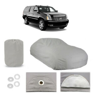 Cadillac Escalade 6 Layer Car Cover Fitted Outdoor Water Proof Rain Sun Dust