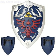 Full Size Link Hylian Zelda Shield with Grip & Handle Kids Child's Toy