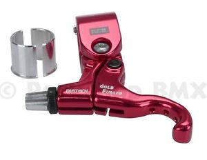 Diatech (Dia-Compe) Tech 99 Goldfinger BMX left hand bicycle brake lever RED