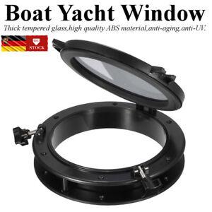 Rundfenster Bullauge Festverglasung Rundelement Nautik Maritim Schiff DE