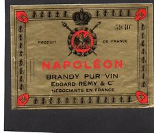 COGNAC VIEILLE ETIQUETTE BRANDY NAPOLEON EDGARD REMY & CO      §05/02/17§