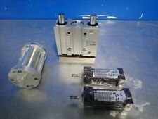 4 Pcs Smc Mgpl32-50 Guided Cylinder Mixed Lot Bimba Fo-173