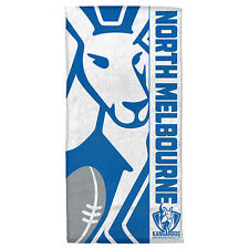 North Melbourne Kangaroos AFL Beach Bath Gym Towel Christmas Gift