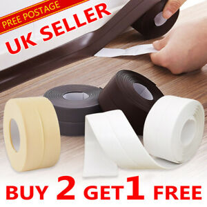 Kitchen Bathroom Wall Sealing Tape Gadgets Waterproof Mould Proof Adhesive Tape