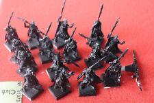 Games Workshop Warhammer Wood Elf Eternal Guard 15 Figures Regiment Metal Elves
