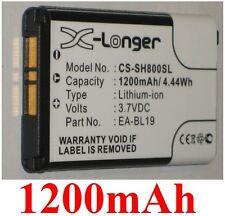 Batería 1200mAh tipo EA-BL19 Para Sharp N49A SH800 SH800M
