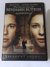 The Curious Case of Benjamin Button (DVD, 2013,   Single Disc  Brad Pitt