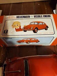 VTG. Bandai Volkswagen Visible Lighted Engine W/ BOX- DRIVER-BUMP N GO  960