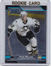 MINT ROOKIE!!  2003-04 TOPPS BOWMAN CHROME # 123 RYAN MALONE PITTSBURGH PENGUINS