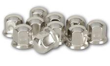 20x Radmutterkappen Edelstahl 33mm Radmutterabdeckungen Radbolzenkappe LKW Caps