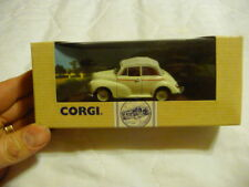 CORGI CLASSICS 96750 - MORRIS MINOR 1000 CONVERTIBLE - CLOSED - SNOWBERRY WHITE