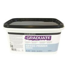 Daler Rowney Graduate White Gesso Primer 1 Litre Tub