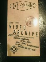Def Leppard - Video Archive (VHS, 1995)