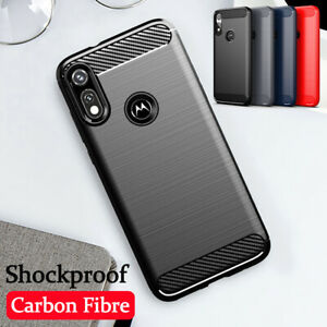 For Motorola Moto E 2020 G9+ G8 Power Shockproof Silicone Matte TPU Case Cover