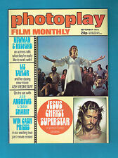 #T42.  PHOTOPLAY  MONTHLY  MAG., SEPTEMBER 1973,  JESUS CHRIST SUPERSTAR  COVER