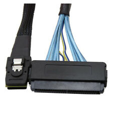 1M Mini SAS 36PIN SFF-8087 to SFF-8484 SAS 32 Pin Data Cable Latch Cable A3 P7M6