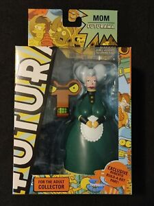 Futurama Mom Figure with Roberto build-a-bot part by Toynami - NEW Unopened RARE