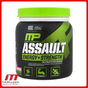 MusclePharm Assault - Explosive Pre Workout 30 Serving - 345g Energy + Strength