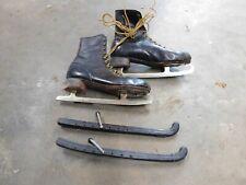 Vintage Brunswick Canadian Flyer mens ice skates