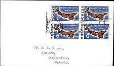 1969 CANADA Day of Issue Cover FDC Ersttagsbrief Stamp Briefmarken Charlottetown