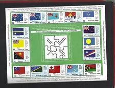 Tonga sc#1191 (2012) Sheets of 16 MNH