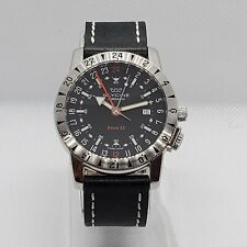 Glycine Airman Base 22 GMT Ref. 3887 with OEM Glycine Leather Strap