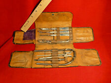 New listing Rare 1870'S Indian War Era Surgeon'S Surgical Toolset Kit