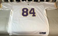 RARE NWOT Authentic Alternative Sewn Randy Moss Minnesota Vikings Jersey Size 54