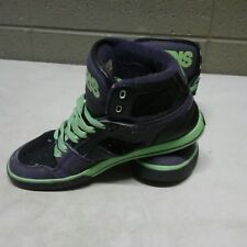 054829e34f Osiris NYC 83 Lime Green Grey Black Skateboarding Shoes Mens 8.5 (c22)