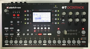 Elektron Octatrack MK1 Dynamic Performance Sampler in box with Manual, Cables