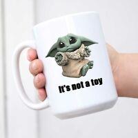 Baby Yoda Mug Funny Movie Coffee Mugs Christmas Birthday Gifts Tea Milk Cup