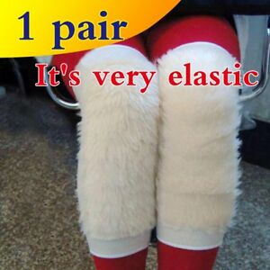 Winter Outdoor Sports Imitation Wool Knee Protection Riding To Protect Joints