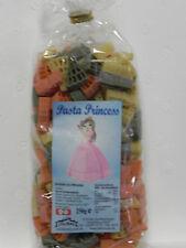 2x 250g bunte Motiv-Nudeln,Prinzessin,Princess,Kinder-Geburtstag,Pasta,Party