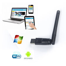 USB2.0 WiFi RT5370 Wireless Networking Card Adapter Dongle with Antenna Superb