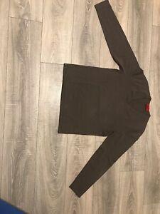 """Hugo Boss Herren Sweatshirt /""""Salbo 1/"""" Gold GR S"""