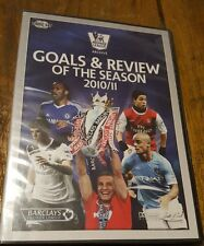 Premier League Soccer Goals & Review Of The Season 2010 / 11 DVD 2-Disc New