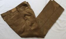 Polo Ralph Lauren Big and Tall Mens Brown 5-Pocket Corduroy Jeans NWT 48 B x 32