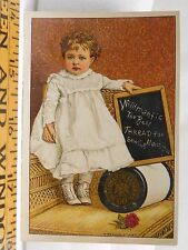 Willimantic Sewing Machine Thread Adorable Baby White Dress Boots Big Spool F38