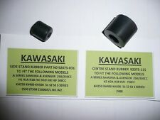 KAWASAKI S1/S2/S3 models CENTRE & SIDE STAND RUBBERS PART NUMBER 92075-031/115