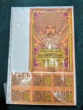 Jimi Hendrix 2nd Print Fillmore East Nyc 1968 Concert Poster Signed & #35/100