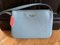 😍 Kate Spade Madelyne Triple Compartment Seaside Blue Crossbody Bag Purse NWT