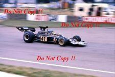 RONNIE PETERSON LOTUS JPS 72E di British Grand Prix 1973 fotografia 10