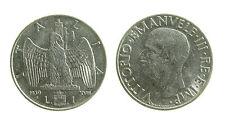 pcc1928) Vittorio Emanuele III (1900-1943) 1 lira 1939 XVIII - ANTIMAGNETICA