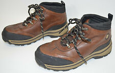 Timberland Back Road Hiking Boots Brown Leather Boy's (Little Kid) Size 2