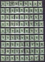 FINLAND SUOMI Lot: 200 stamps 1919 10 p + overprint 30 p FREE SHIPPING WORLDWIDE