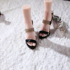 1 Pair Realistic Female Foot Sock Silicone Girl Feet Mannequin Foot Model Tools