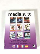 Media Suite PC Software CD Rom 9 Programme Vector Musik Video Multimedia Vinyl